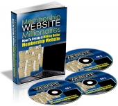 Membership Website Millionaires eBook with Private Label Rights