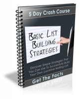 Basic List Building Strategies eBook with Private Label Rights
