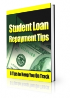 Student Loan Repayment Tips eBook with private label rights