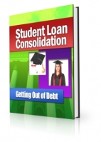 Student Loan Consolidation eBook with private label rights