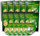 Instant Site Flipping Riches Video with Master Resell Rights