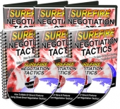Surefire Negotiation Tactics Video with Master Resell Rights