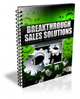 Breakthrough Sales Solutions eBook with Private Label Rights