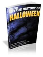 The True History Of Halloween eBook with Private Label Rights