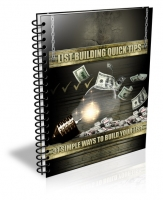 List Building Quick Tips eBook with Private Label Rights