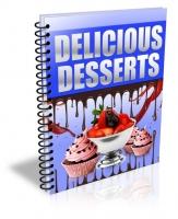 Delicious Desserts eBook with Private Label Rights