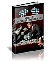 Starting An Online Business 101 eBook with Private Label Rights