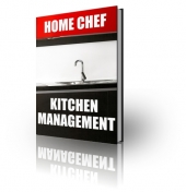 Home Chef Kitchen Management eBook with Private Label Rights