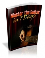 Master the Guitar in 7 Days! eBook with private label rights