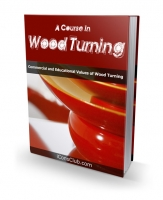 A Course In Wood Turning eBook with private label rights