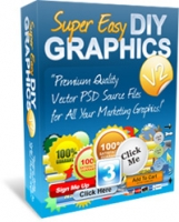 Super Easy DIY Graphics V2 Graphic with Personal Use Rights