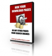 Hide Your Download Pages eBook with Private Label Rights