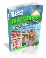Best Investment Ideas And Tips eBook with Master Resale Rights