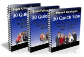 90 Quick Tips With Private Label Rights eBook with Private Label Rights