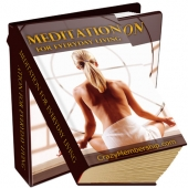 Meditation For Everyday Living eBook with Private Label Rights