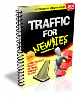 Traffic For Newbies eBook with Private Label Rights