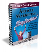 Article Marketing Explosion! eBook with Private Label Rights