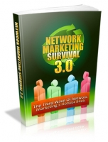 Network Marketing Survival 3.0 eBook with private label rights
