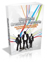 Simplistic Creativity Concepts eBook with private label rights