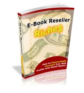 E-Book Reseller Riches eBook with Private Label Rights