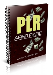 PLR Arbitrage eBook with private label rights