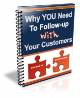 Why You Need To Follow-Up With Your Customers eBook with Resale Rights