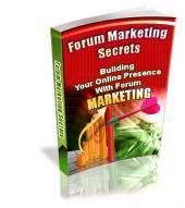 Forum Marketing Secrets - PLR eBook with Private Label Rights