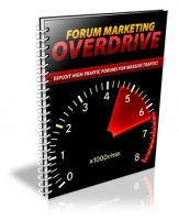 Forum Marketing Overdrive eBook with Personal Use Rights