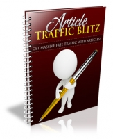 Article Traffic Blitz eBook with Personal Use Rights