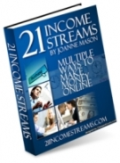 21 Income Streams eBook with Master Resell Rights
