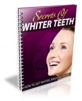 Secrets Of Whiter Teeth eBook with private label rights