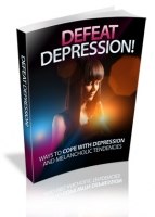 Defeat Depression! eBook with private label rights