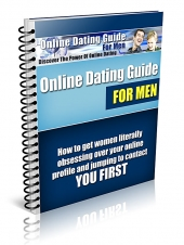 Online Dating Guide for Men eBook with Giveaway Rights