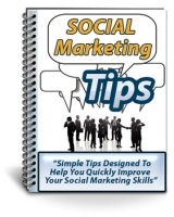 Social Marketing Tips eBook with Private Label Rights