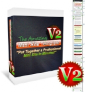 The Amazing Mini Site Template V2 Graphic with Personal Use Rights