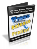 Press Release Profits! Video with Resale Rights