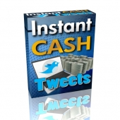Instant Cash Tweets Gold Article with Private Label Rights