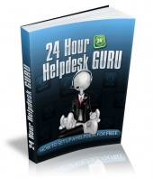 24 Hour Helpdesk Guru eBook with Resale Rights