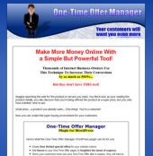 One-Time Offer Manager Plugin For WordPress Template with Master Resale Rights