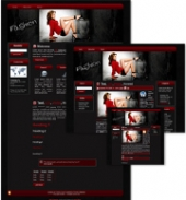 Fashion Themed Wordpress, Blogger and HTML Templates 3 Template with Master Resale Rights