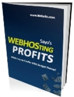 Webhosting Profits eBook with private label rights