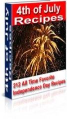 4th of July Recipes eBook with Master Resell Rights