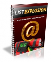 List Explosion eBook with Private Label Rights