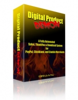 Digital Product Demon Software with Master Resale Rights