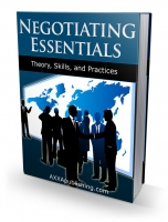 Negotiating Essentials eBook with private label rights