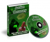 Auction Mercenary eBook with Master Resale Rights