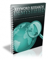 Keyword Research Demystified eBook with Personal Use Rights