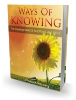 Ways Of Knowing eBook with Private Label Rights