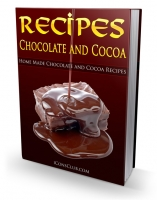 Recipes - Chocolate And Cocoa eBook with Private Label Rights
