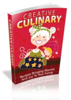 Creative Culinary eBook with Master Resale Rights